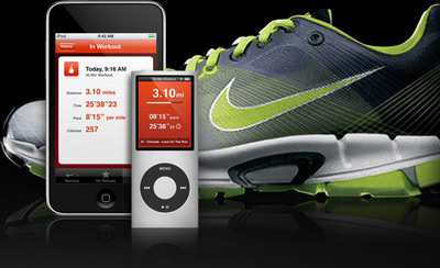 Apple and Nike for Nike+